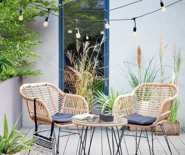 ogród strefa relaksu